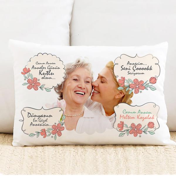 Seni Çok Seviyorum Anne Yastık