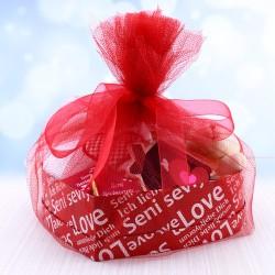 Seni Çok Seviyorum Hediye Kutusu - Thumbnail