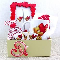 Seni Koskocaman Seviyorum Canım Aşkım Hediye Sepeti - Thumbnail