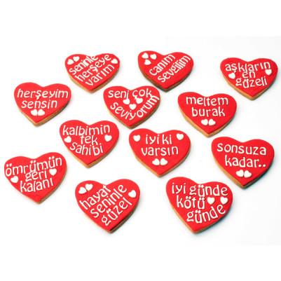 Seni Seviyorum Butik Kurabiye - Thumbnail