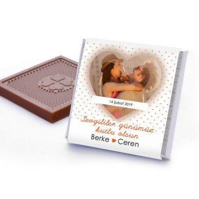 Seni Seviyorum Fotoğraflı Çikolata Kutusu - Thumbnail
