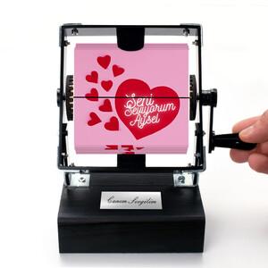 - Seni Seviyorum İsme Özel Gif Film Makinesi