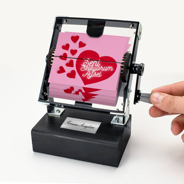 Seni Seviyorum İsme Özel Gif Film Makinesi