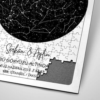Seni Tanıdığımda Gökyüzü Puzzle - Thumbnail