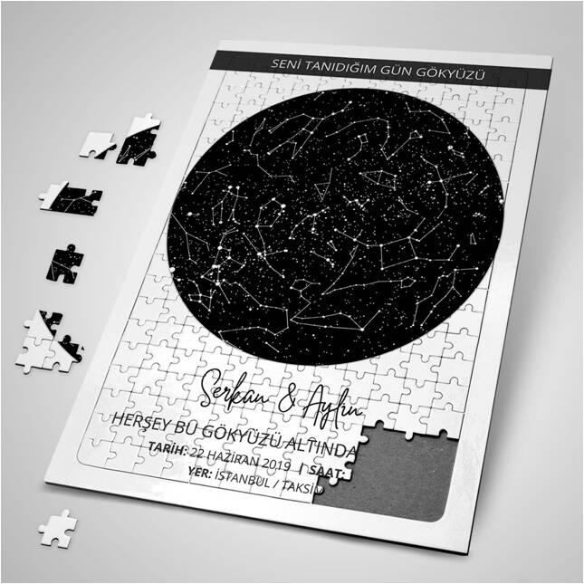 Seni Tanıdığımda Gökyüzü Puzzle