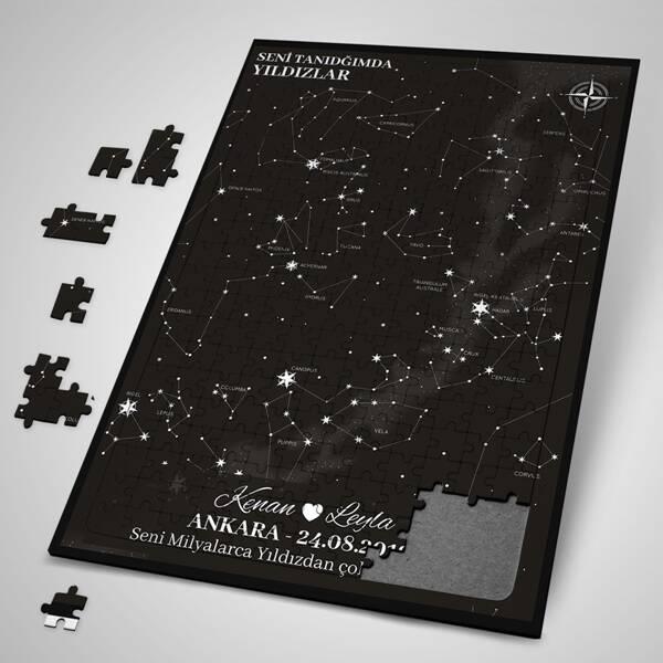 Seni Tanıdığımda Yıldızlar Puzzle