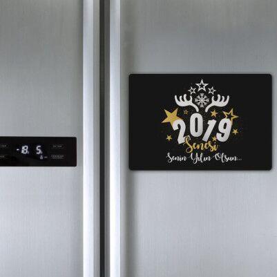 Senin Senen Olsun Buzdolabı Magneti - Thumbnail