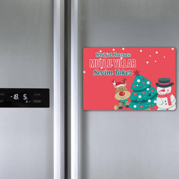 Senin Yılın Olsun Buzdolabı Magneti