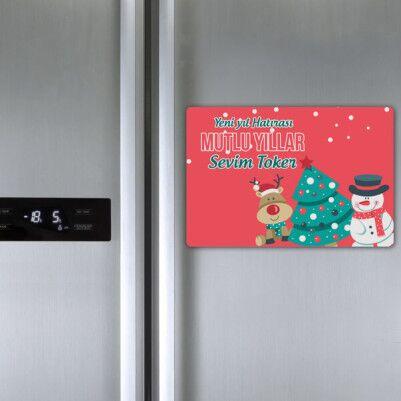 Senin Yılın Olsun Buzdolabı Magneti - Thumbnail