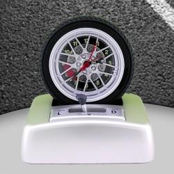 Sesli Araba Lastiği Alarm Saati - Thumbnail