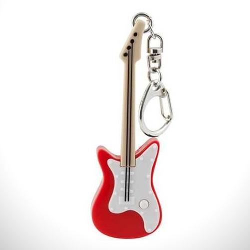 Sesli ve Işıklı LED Gitar Anahtarlık