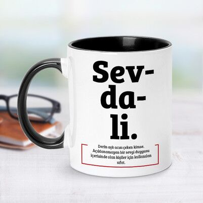- Sevdali Esprili Kupa Bardak