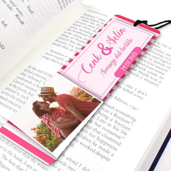 Sevgili Hediyesi Kitap Okuma Ayracı