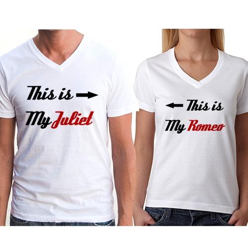 Sevgili Tişörtleri - Romeo ve Juliet Tişört