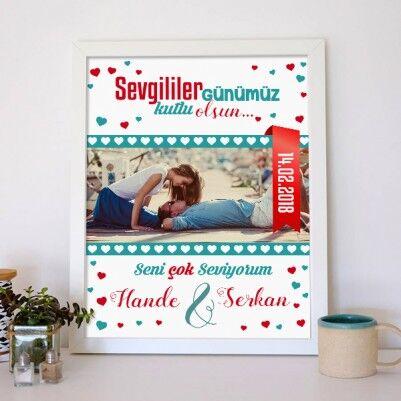 Sevgililer Günü Aşk Posteri - Thumbnail