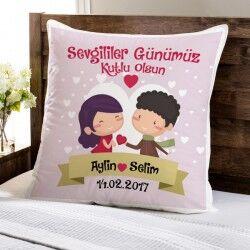 - Sevgililer Günü Aşk Yastığımız