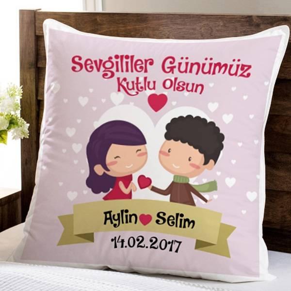 Sevgililer Günü Aşk Yastığımız