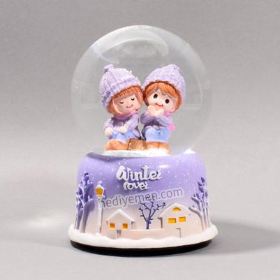 - Sevgililer Günü Hediyesi Kar Küresi K09