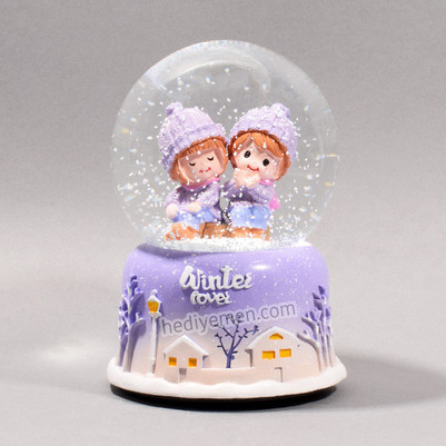 Sevgililer Günü Hediyesi Kar Küresi K09 - Thumbnail