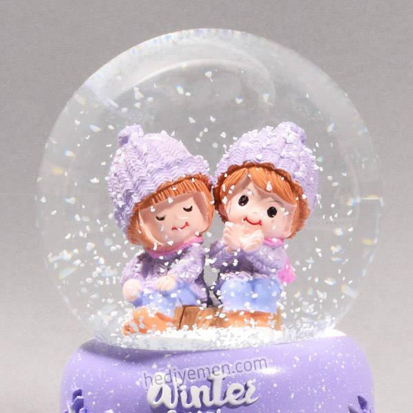 Sevgililer Günü Hediyesi Kar Küresi K09