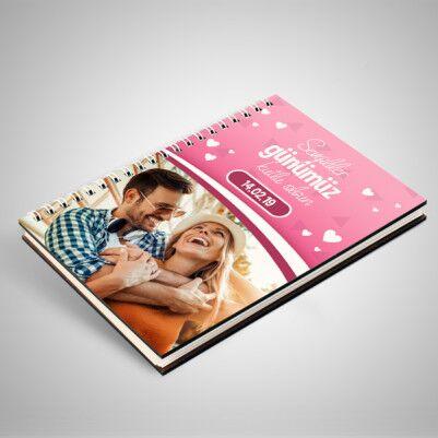 Sevgililer Günü Hediyesi Sevgili Defteri - Thumbnail