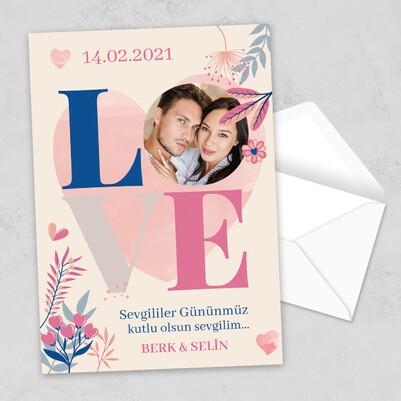 - Sevgililer Günü Love Mektup