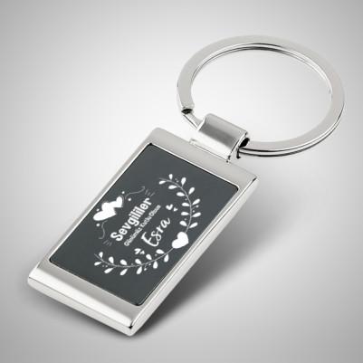 - Sevgililer Günü Temalı Metal Anahtarlık