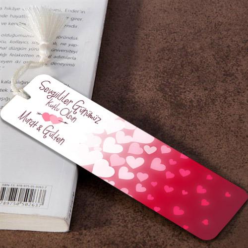 Sevgililer Günümüz Kutlu Olsun Kitap Ayracı