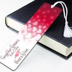 - Sevgililer Günümüz Kutlu Olsun Kitap Ayracı