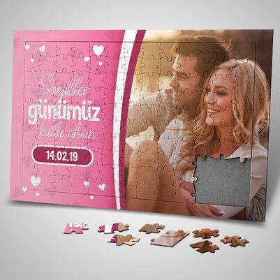 - Sevgililer Gününe Özel 130 Parça Puzzle