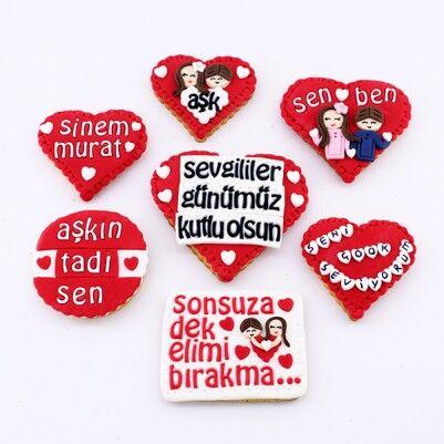 Sevgililer Gününe Özel Butik Kurabiyeler - Thumbnail