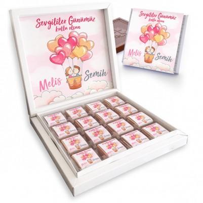 Sevgililer Gününe Özel Çikolata Kutusu - Thumbnail