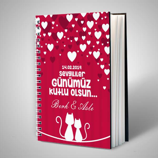 Sevgililer Gününe Özel Sevgili Defteri