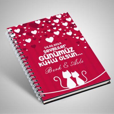 Sevgililer Gününe Özel Sevgili Defteri - Thumbnail
