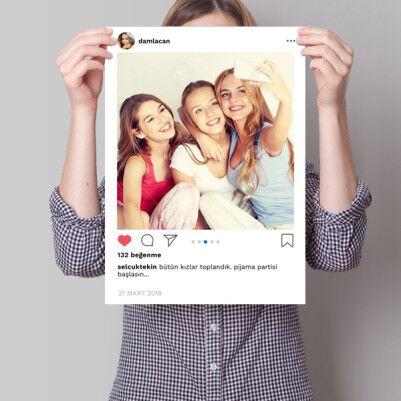 Sevgililer Gününe Özel Sosyal Medya Poster - Thumbnail