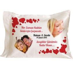 Sevgililer Günümüz Kutlu Olsun Yastık - Thumbnail