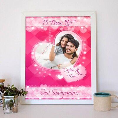 Sevgililere Özel Aşk Posteri - Thumbnail