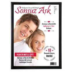 Sevgililere Özel Dergi Kapağı - Thumbnail