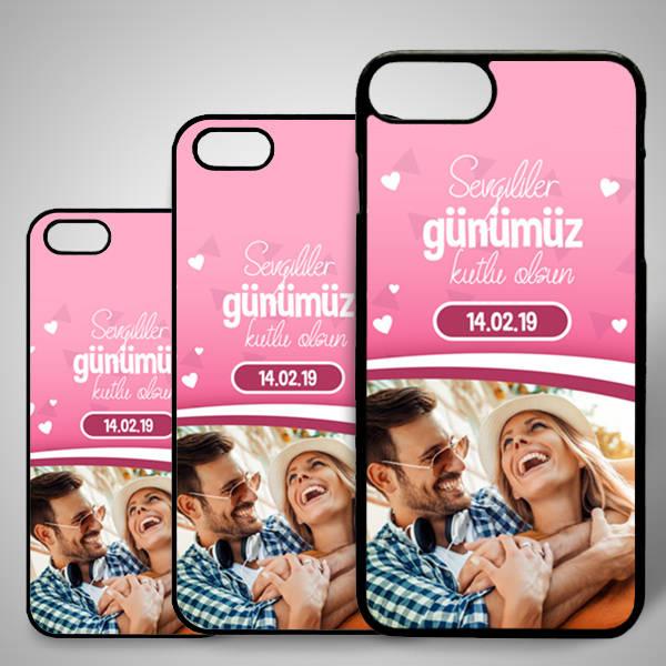 Sevgililere Özel Fotoğraflı iPhone Telefon Kapağı