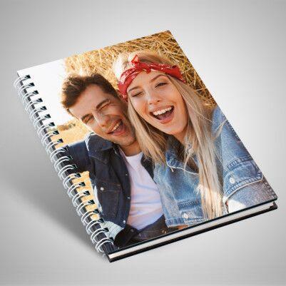 Sevgililere Özel Fotoğraflı Sevgili Defteri - Thumbnail