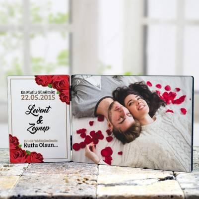 Sevgililere Özel Resimli Masaüstü Dekor