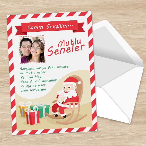 Sevgililere Özel Yeni Yıl Mektubu