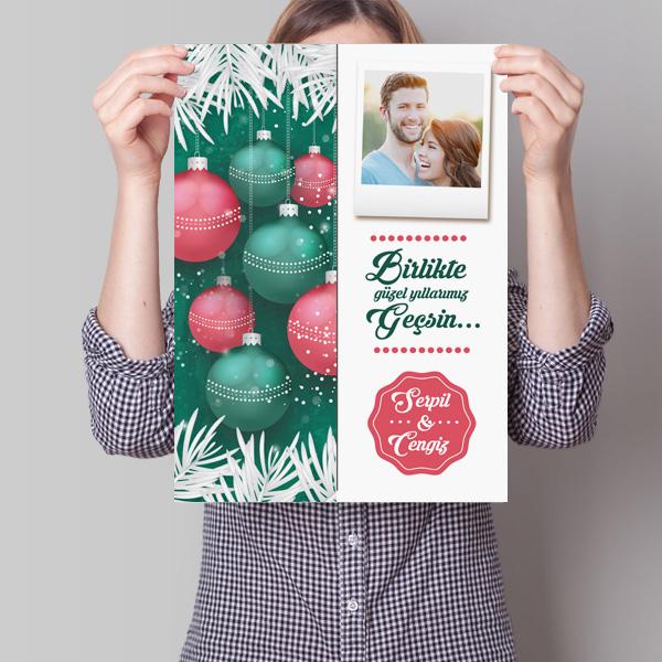 Sevgililere Özel Yılbaşı Posteri