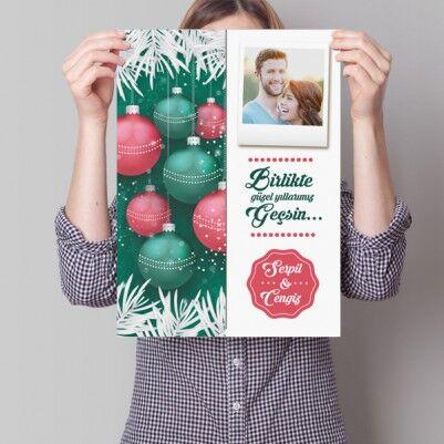 - Sevgililere Özel Yılbaşı Posteri