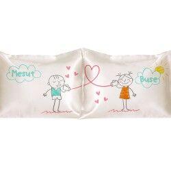 - Sevgililere Özel Aşkını Fısılda 2'li Yastık