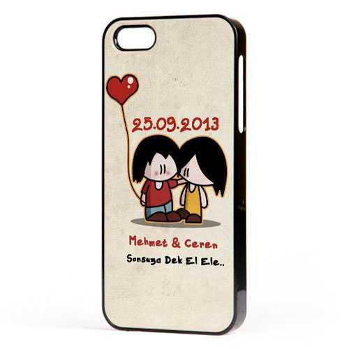 Sevgililere Özel Sonsuza Dek El Ele iPhone Kılıf