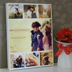 Sevgilime Mutluluğun Tablosu Kanvas - Thumbnail