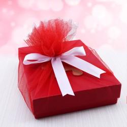Sevgiliye Ayıcıklı Aşk Hediye Kutusu - Thumbnail