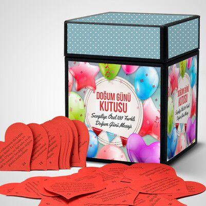 Sevgiliye Doğum Günü Kutusu - Thumbnail