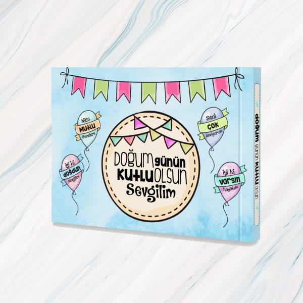 Sevgiliye Doğum Günü Konsept Hediye Kutusu